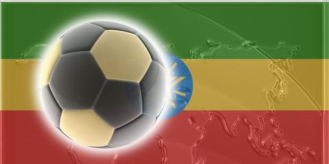 Flag of Ethiopia soccer