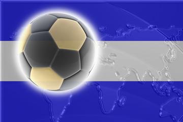 Flag of El Salvador soccer