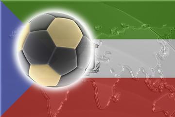 Flag of Equatorial Guinea soccer