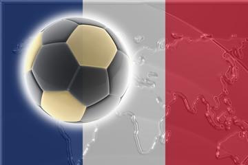 Flag of France soccer