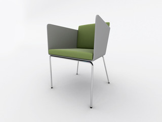 Modern office armchair