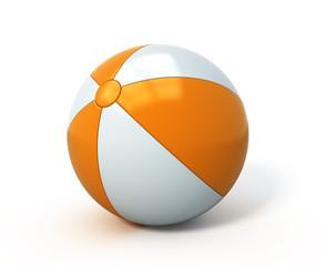 Beach ball isolated