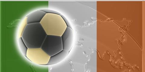Flag of Ireland soccer