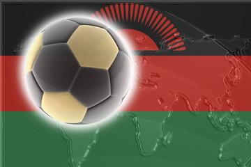 Flag of Malawi soccer