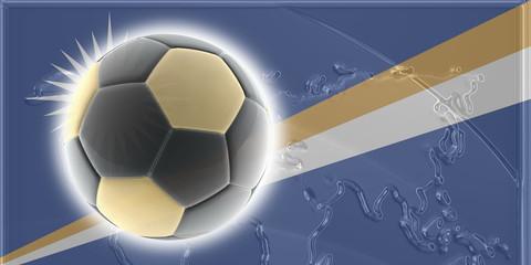 Flag of Marshall Islands soccer