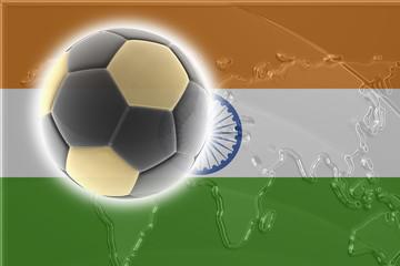 Flag of India soccer