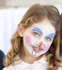 face painting portrait