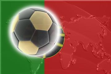 Flag of Portugal soccer