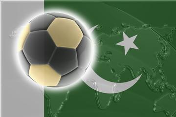 Flag of Pakistan soccer
