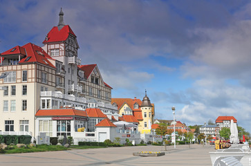 Ostseebad Kühlungsborn, Strandpromenade