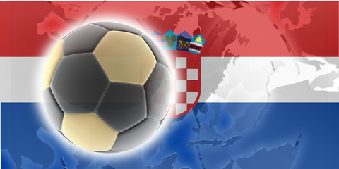Flag of soccer