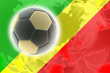 Flag of Congo soccer