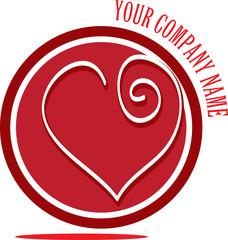 Heart Circle Logo