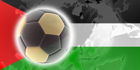 Flag of Jordan soccer