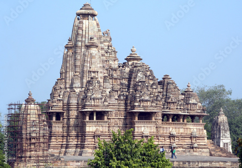 Khajuraho, India, Lakshmana Temple