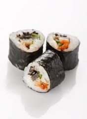 Printed kitchen splashbacks Sushi bar Traditional Japanese food.