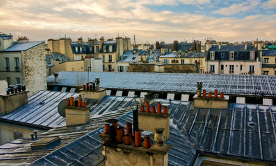 Paris Roof View