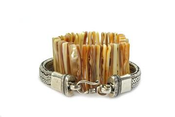 A pair of style bracelets