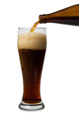 Beer pouring