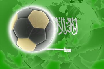 Flag of Saudi Arabia soccer
