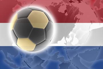 Flag of Netherlands soccer
