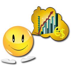 smiley économie