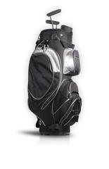 Golftasche auf Weiß