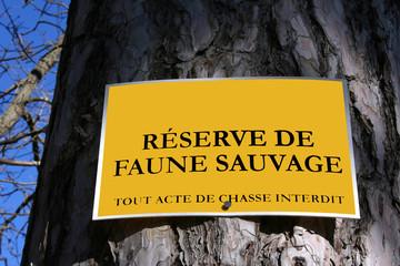 Réserve faune sauvage
