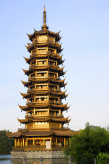 Sun Pagoda, Guilin, China
