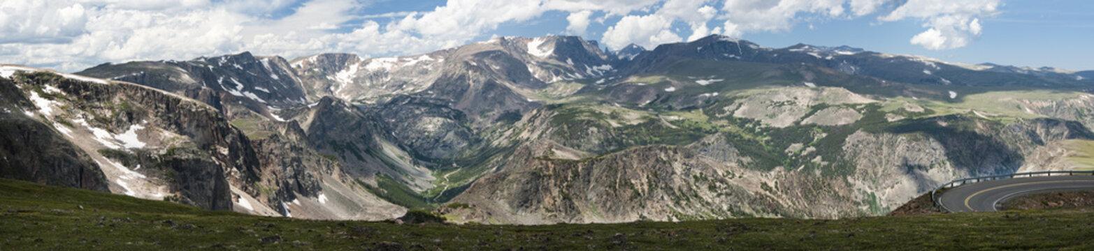 Beartooth Pass Panorama