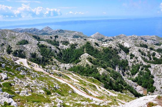 View from Sv. Jure - Croatia