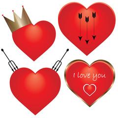 Valentine's Day symbol - I love you