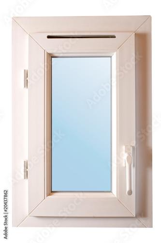 fen tre double vitrage pvc poign e basse photo libre de droits sur la banque d 39 images fotolia. Black Bedroom Furniture Sets. Home Design Ideas