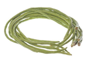 Long Green Beans Isolated