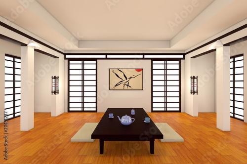 Int Rieur Japonais Photo Libre De Droits Sur La Banque D 39 Images Image 20451237