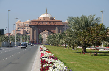 Emirates Palace in Abu Dhabi, United Arab Emirates