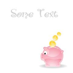 little piggy save moneybox