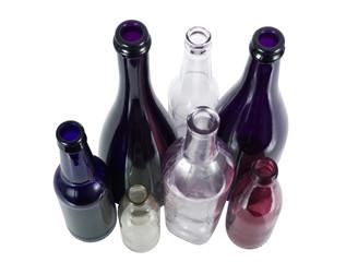 Wall Mural - bottiglie di vetro