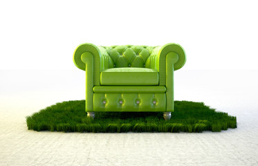 Seat in nature