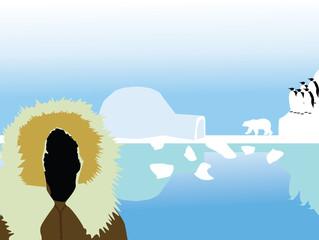 North Pole vector