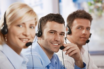 Customer service operators