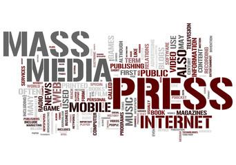 Press and Mass media