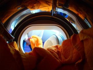Wäschetrockner von innen