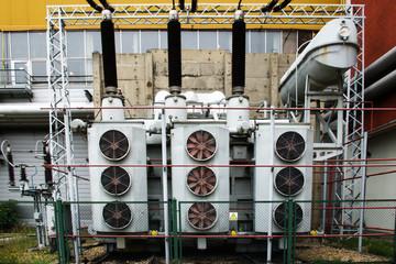 Inside powerplant