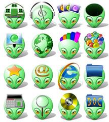 Avatar Alieno Icona-Avatar Alien Icone