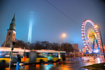 Television Tower, Berlin, Germany.
