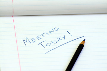 meeting today