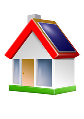 icon haus solardach klimaschutz