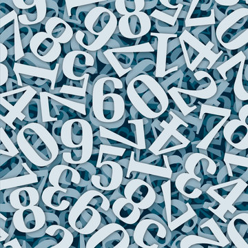 Zahlensalat mit Tiefenwirkung