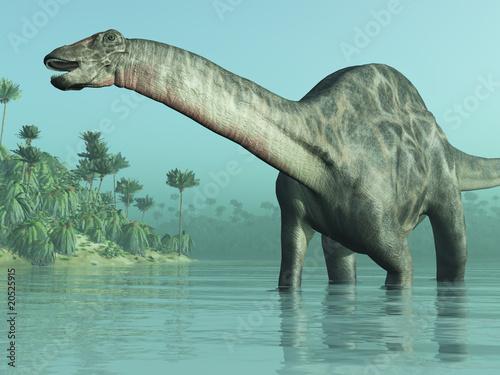 Dicraeosaurus Dinosaur 3D render